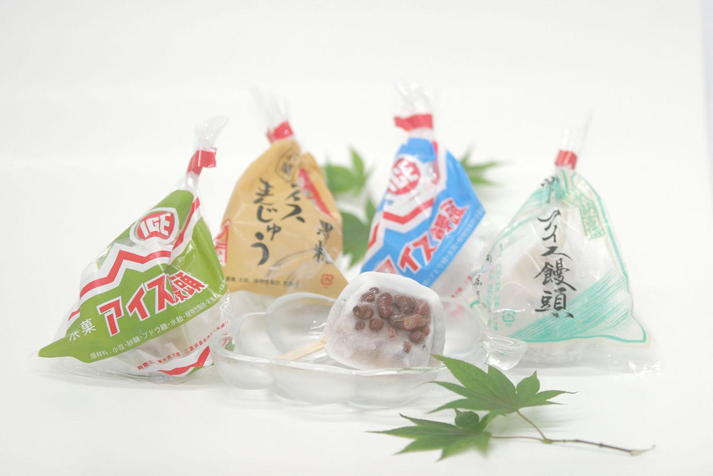 アイス饅頭詰め合わせAセット(8本)